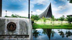 Książe Mahidol Hall Uroczysta sala jako właściwy miejsce wydarzenia dla skalowania ceremon Obrazy Stock