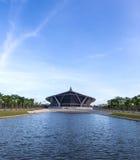Książe Mahidol sala w Mahidol uniwersytecie Obraz Royalty Free