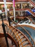Książe Obciosują zakupy centrum handlowe w Glasgow Zdjęcie Royalty Free