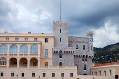 Książe pałac Monaco - Ja jest oficjalną rezydencją Obrazy Stock