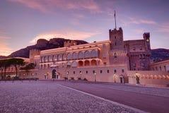Książe pałac w Monaco Zdjęcia Stock