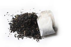 Książe popielata herbata i herbaciana torba Obrazy Royalty Free