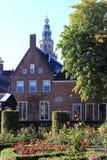 Książe sąd i Martini wierza, Groningen, Holandia obrazy stock