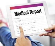 Książeczki Zdrowia opieki zdrowotnej dokumentu Raportowy pojęcie Obrazy Stock
