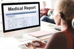 Książeczki Zdrowia opieki zdrowotnej dokumentu Raportowy pojęcie Zdjęcia Royalty Free