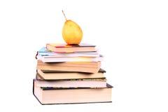 książek bonkrety ostrosłupa wierzchołka kolor żółty Fotografia Stock