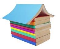 książek kolorowa edukaci sterta zdjęcie stock