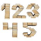 książek liczby Zdjęcie Stock