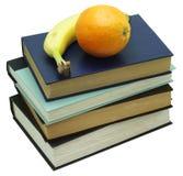 książek owoc sterta Zdjęcia Royalty Free