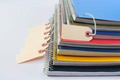 książek pisać Zdjęcia Stock