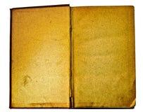 książka antykwarska blank odizolowane otwarte white Zdjęcia Royalty Free