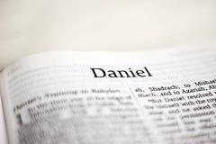 Książka Daniel obraz stock