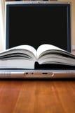 książka elektronicznego Zdjęcie Stock