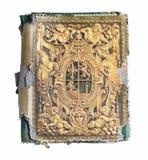 książka embossed starego Zdjęcie Stock