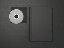 Książka i cd Obrazy Royalty Free
