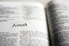 Książka Jonah zdjęcia stock