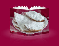 Książka Karnawałowi i Wielkanocni cukierki zdjęcie royalty free