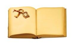 książka kluczowym motyw Zdjęcie Stock