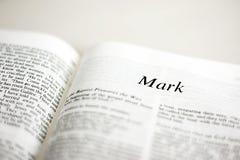 Książka Mark zdjęcia stock