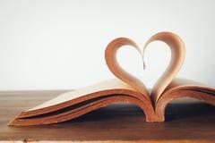 Książka miłość Zdjęcia Stock