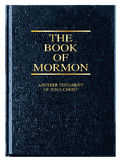 Książka mormon Fotografia Royalty Free