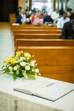 Książka na stole Fotografia Stock