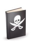 Książka nielegalnie kopiować - ścinek ścieżka Obraz Royalty Free