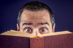 książka odczytana fotografia stock