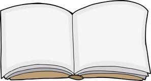 książka odizolowane otwarte Obrazy Stock