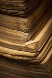 książka ostrzy stare strony Zdjęcia Stock