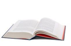 książka otwartego Obrazy Stock