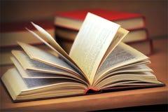 książka otwierał Fotografia Stock