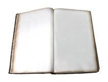 książka pusta Fotografia Stock