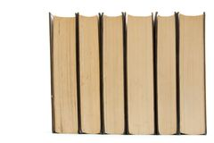 książka rząd Obraz Stock