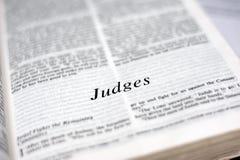 Książka sędziowie zdjęcie stock