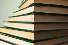 Książka schodków sterta Zdjęcie Stock