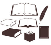 Książka. Set ilustracja wektor