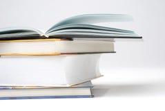 książka stos cztery fotografia stock