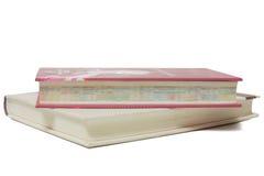 książka stos odizolowane white Obraz Royalty Free