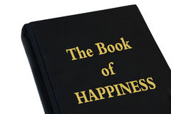 Książka szczęście Obraz Royalty Free