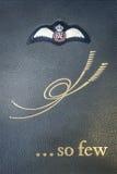 Książka wspominanie pokrywa Zdjęcie Royalty Free
