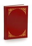 Książka z hard pokrywą - ścinek ścieżka zdjęcia stock