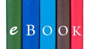 książka zakrywa ebook słowo Zdjęcia Royalty Free