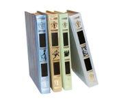 książki cztery Zdjęcia Royalty Free