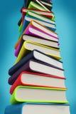 Książki duży stos 3d Zdjęcia Stock