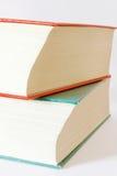 książki dwa Obraz Stock