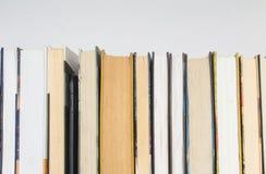 Książki na półce Zdjęcie Royalty Free