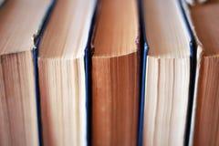 Książki na półce Zdjęcie Stock