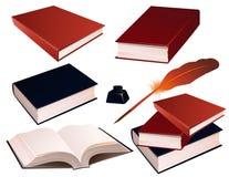 książki odizolować tło ilustracji