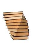książki odizolowywali biel Fotografia Stock